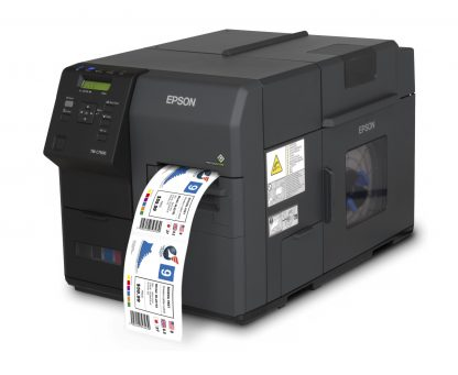 Epson C7500g colour label printer